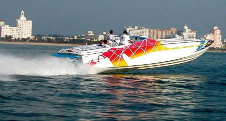 A Go-Fast Power Boat Using and Xtreme Heater for Winter Freeze Protection